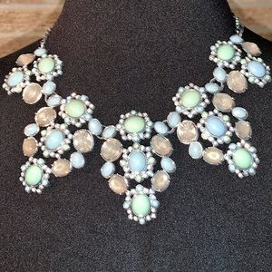 NEVER WORN - Blue/Green/Smoke Necklace